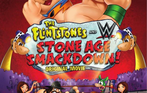 [Blu-Ray Review] 'The Flintstones & WWE: Stone Age Smackdown!': Own it on Blu-Ray Combo, DVD & Digital HD March 10th From WWE & Warner Bros. 1