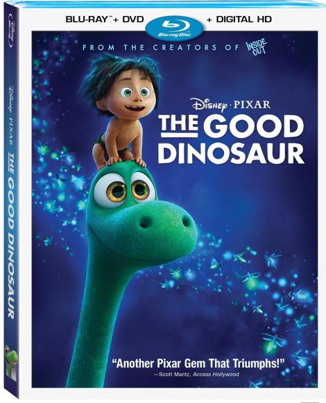 'The Good Dinosaur'; Arrives On Blu-ray Combo Pack, Digital HD & DMA February 23, 2016 From Pixar & Disney 2