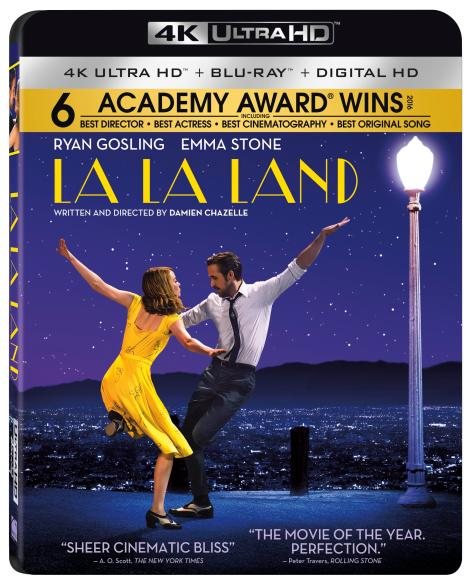 'La La Land'; Arrives On Digital HD April 11 & On 4K Ultra HD, Blu-ray & DVD April 25, 2017 From Lionsgate 5