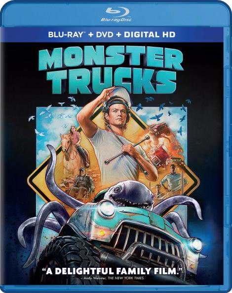 'Monster Trucks'; Arrives On Digital HD March 28 & On Blu-ray Combo Pack & DVD April 11, 2017 From Paramount 4
