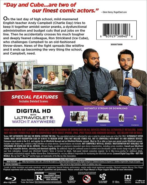 'Fist Fight'; Own It On Blu-ray & DVD May 30 Or Own It Early On Digital HD May 16, 2017 From Warner Bros 4