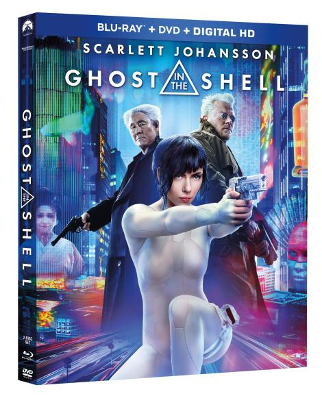 'Ghost In The Shell'; The Live-Action Film Arrives On Digital July 7 & On 4K Ultra HD, Blu-ray 3D & Blu-ray July 25, 2017 From Paramount 2