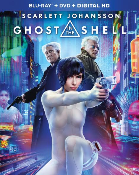 'Ghost In The Shell'; The Live-Action Film Arrives On Digital July 7 & On 4K Ultra HD, Blu-ray 3D & Blu-ray July 25, 2017 From Paramount 3