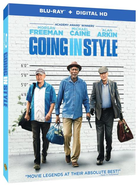 'Going In Style'; Arrives On Digital HD July 11 & On Blu-ray & DVD August 1, 2017 From Warner Bros 2