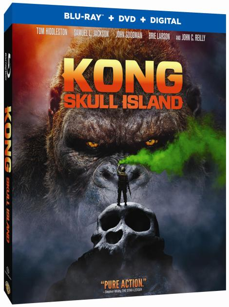 'Kong: Skull Island'; Arrives On Digital June 20 & On 4K Ultra HD, Blu-ray 3D, Blu-ray & DVD July 18, 2017 From Warner Bros 16