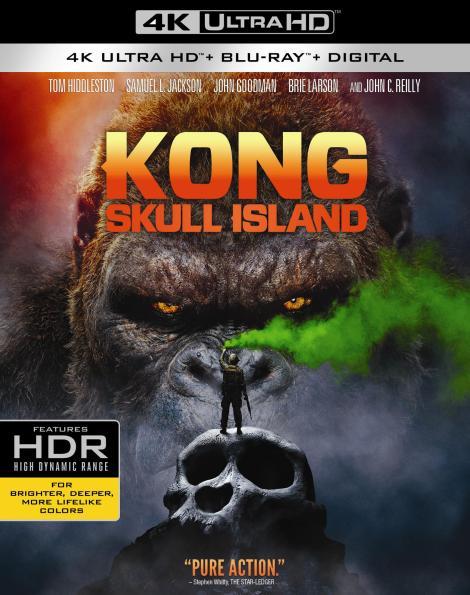 'Kong: Skull Island'; Arrives On Digital June 20 & On 4K Ultra HD, Blu-ray 3D, Blu-ray & DVD July 18, 2017 From Warner Bros 2
