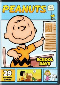 'Peanuts By Schulz: School Days'; Arrives On 2-Disc DVD August 29, 2017 From Warner Bros 1