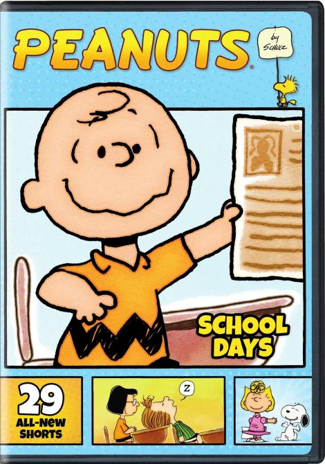 'Peanuts By Schulz: School Days'; Arrives On 2-Disc DVD August 29, 2017 From Warner Bros 2