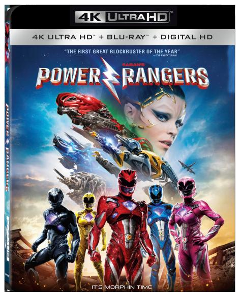 Saban's 'Power Rangers'; Arrives On Digital HD June 13 & On 4K Ultra HD, Blu-ray & DVD June 27, 2017 From Lionsgate 4