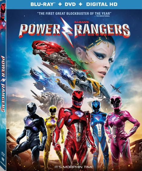 Saban's 'Power Rangers'; Arrives On Digital HD June 13 & On 4K Ultra HD, Blu-ray & DVD June 27, 2017 From Lionsgate 5