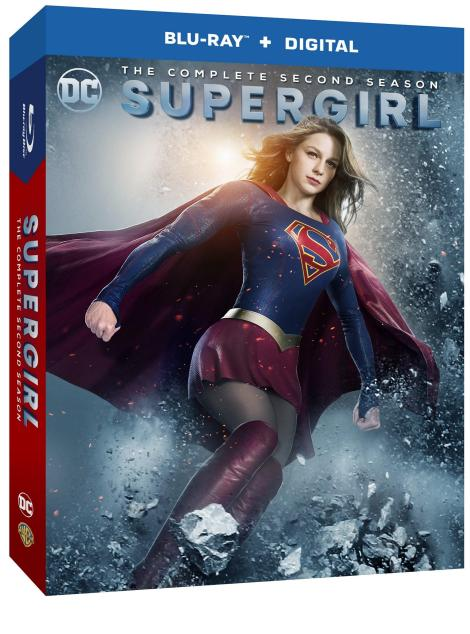 'Supergirl: The Complete Second Season'; Arrives On Blu-ray & DVD August 22, 2017 From DC Comics & Warner Bros 2