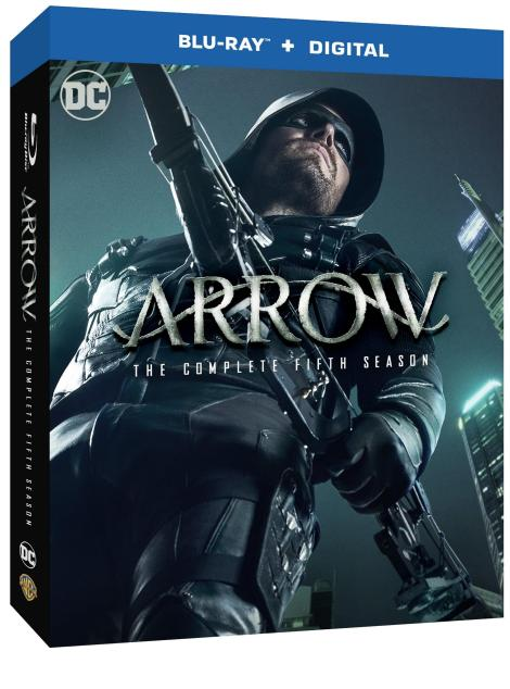 'Arrow: The Complete Fifth Season'; Arrives On Blu-ray & DVD September 19, 2017 From DC & Warner Bros 2