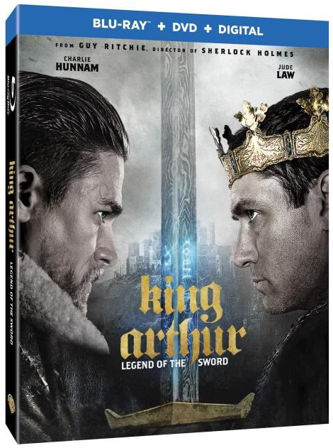 'King Arthur: Legend Of The Sword'; Arrives On Digital July 25 & On 4K Ultra HD, Blu-ray 3D, Blu-ray & DVD August 8, 2017 From Warner Bros 5