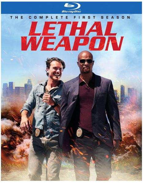 'Lethal Weapon: The Complete First Season'; Arrives On Blu-ray & DVD September 19, 2017 From Warner Bros 3