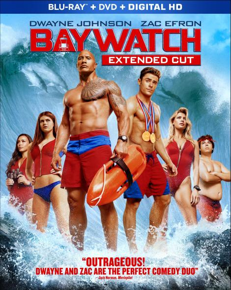 'Baywatch: Extended Cut'; Arrives On Digital HD August 15 & On 4K Ultra HD & Blu-ray August 29, 2017 From Paramount 3