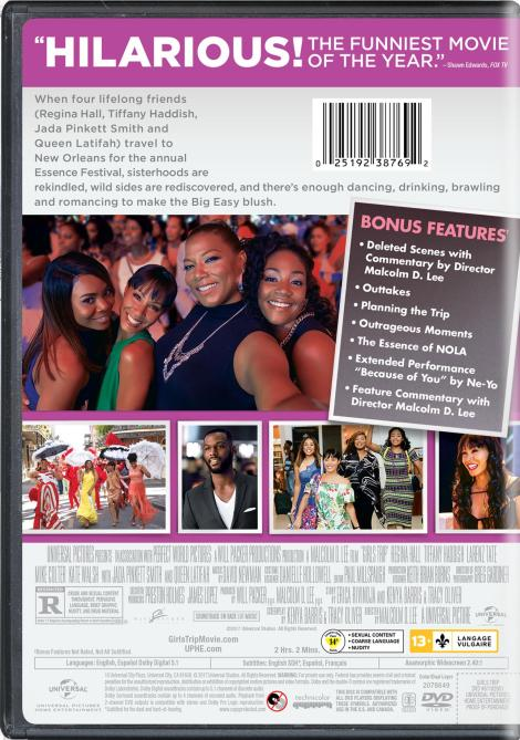 'Girls Trip'; Arrives On Digital October 3 & On Blu-ray & DVD October 17, 2017 From Universal 8