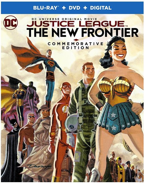 'Justice League: The New Frontier' Commemorative Edition; Arrives On Blu-ray, Blu-ray Steelbook & DVD October 3, 2017 From DC & Warner Bros 4