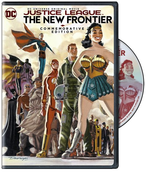 'Justice League: The New Frontier' Commemorative Edition; Arrives On Blu-ray, Blu-ray Steelbook & DVD October 3, 2017 From DC & Warner Bros 7