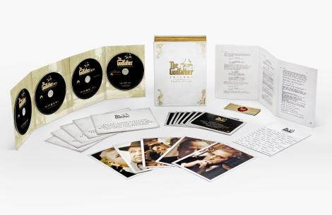 'The Godfather Trilogy: Omertà Edition'; Arrives On 4-Disc Limited Edition Blu-ray Gift Set November 7, 2017 From Paramount 3