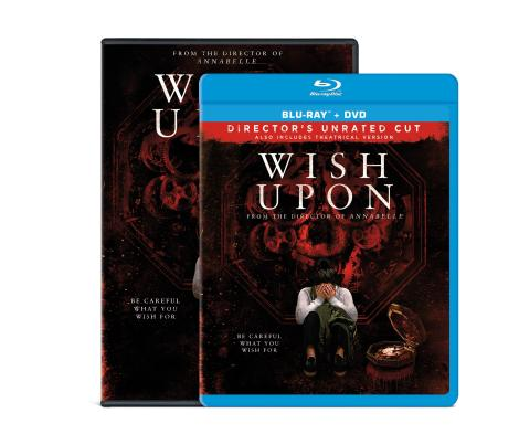 'Wish Upon'; Arrives On Director's Unrated Blu-ray & On Digital HD & DVD October 10, 2017 From Broad Green 10