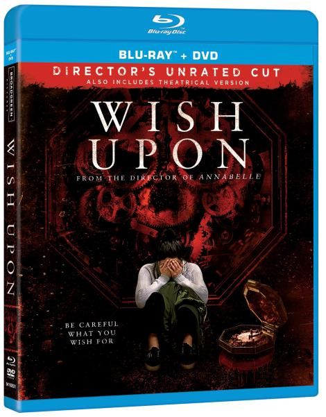 'Wish Upon'; Arrives On Director's Unrated Blu-ray & On Digital HD & DVD October 10, 2017 From Broad Green 4