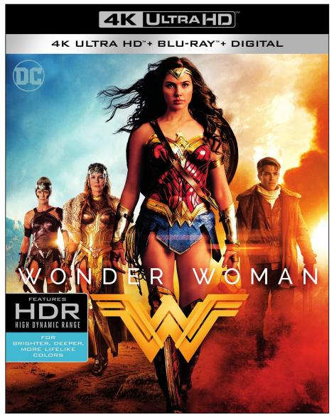 'Wonder Woman'; Arrives On Digital August 29 & On 4K Ultra HD, 3D Blu-ray, Blu-ray & DVD September 19, 2017 From DC & Warner Bros 3