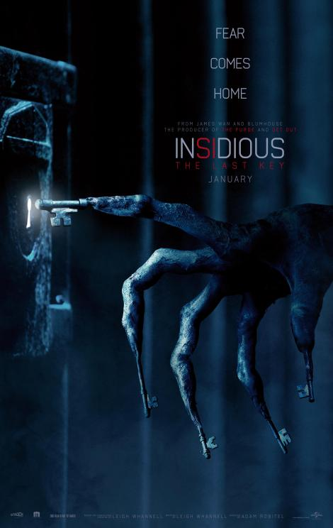 The First Trailer & Poster For 'Insidious: The Last Key' Are Here To Terrify You! 2