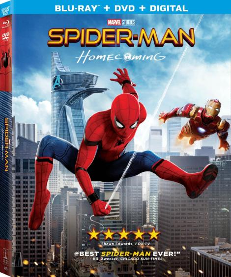 'Spider-Man: Homecoming'; Arrives On Digital September 26 & On 4K Ultra HD, Blu-ray 3D, Blu-ray & DVD October 17, 2017 From Sony Pictures 9