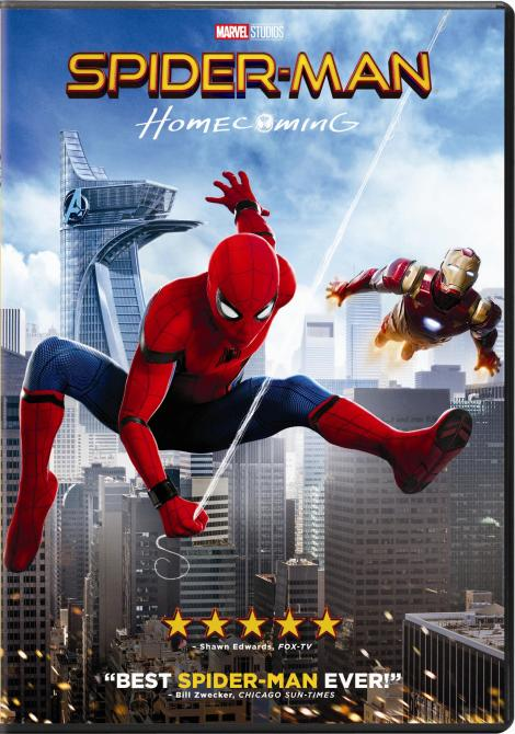 'Spider-Man: Homecoming'; Arrives On Digital September 26 & On 4K Ultra HD, Blu-ray 3D, Blu-ray & DVD October 17, 2017 From Sony Pictures 10