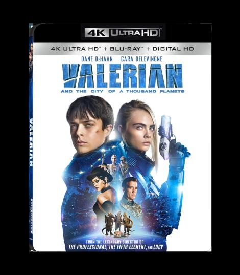 'Valerian And The City Of A Thousand Planets'; Arrives On Digital November 7 & On 4K Ultra HD, Blu-ray & DVD November 21, 2017 From Lionsgate 5