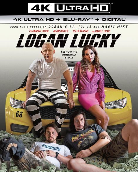 'Logan Lucky'; Arrives On Digital November 14 & On 4K Ultra HD, Blu-ray & DVD November 28, 2017 From Universal 4