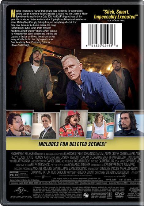 'Logan Lucky'; Arrives On Digital November 14 & On 4K Ultra HD, Blu-ray & DVD November 28, 2017 From Universal 11
