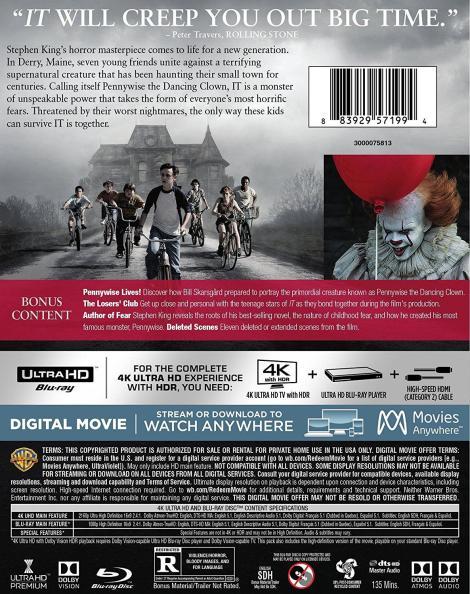 'IT'; Arrives On Digital December 19, 2017 & On 4K Ultra HD, Blu-ray & DVD January 9, 2018 From Warner Bros 8