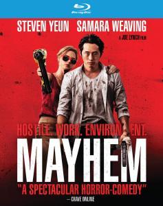 Joe Lynch's 'Mayhem'; Arrives On 4K Ultra HD, Blu-ray & DVD December 26, 2017 From RLJE Films 1