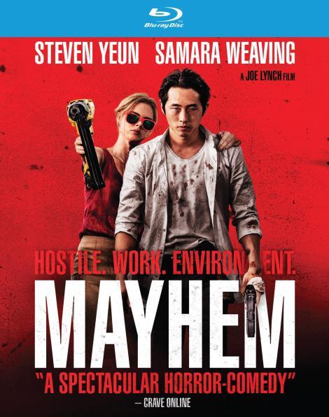 Joe Lynch's 'Mayhem'; Arrives On 4K Ultra HD, Blu-ray & DVD December 26, 2017 From RLJE Films 4