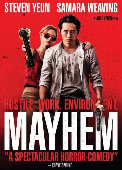 Joe Lynch's 'Mayhem'; Arrives On 4K Ultra HD, Blu-ray & DVD December 26, 2017 From RLJE Films 5