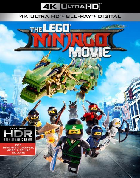 'The LEGO Ninjago Movie'; Arrives On Digital December 12 & On 4K Ultra HD, 3D Blu-ray, Blu-ray & DVD December 19, 2017 From Warner Bros 3