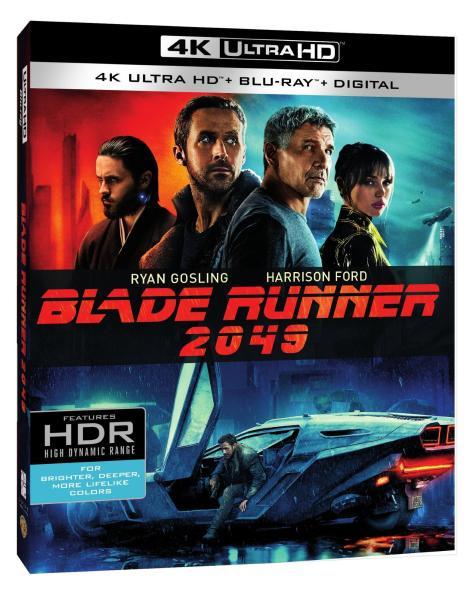 'Blade Runner 2049'; Arrives On Digital December 26, 2017 & On 4K Ultra HD, 3D Blu-ray, Blu-ray & DVD January 16, 2018 From Warner Bros 4