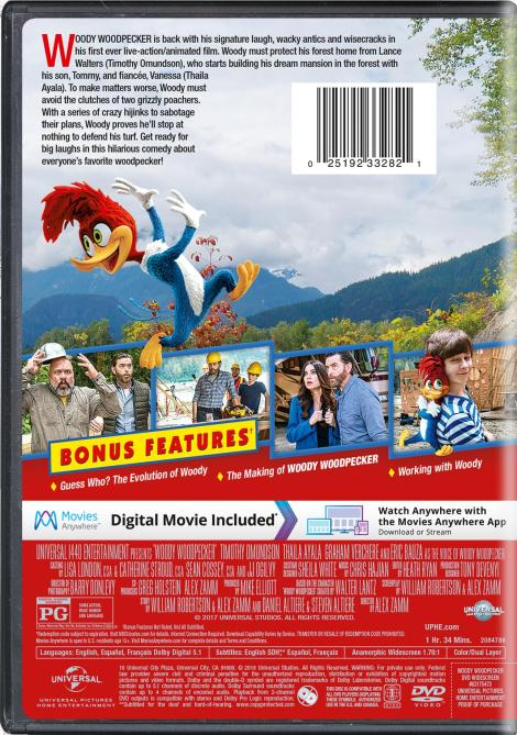 Trailer, Artwork & Release Details For New 'Woody Woodpecker' Movie!; Arrives On DVD & Digital February 6, 2018 From Universal 5