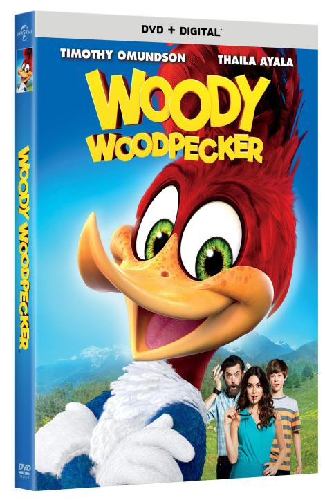 Trailer, Artwork & Release Details For New 'Woody Woodpecker' Movie!; Arrives On DVD & Digital February 6, 2018 From Universal 3