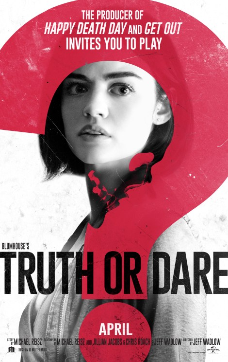 The Twisted Games Begin With A Trailer, Poster, Synopsis & More For Blumhouse's 'Truth Or Dare' 2