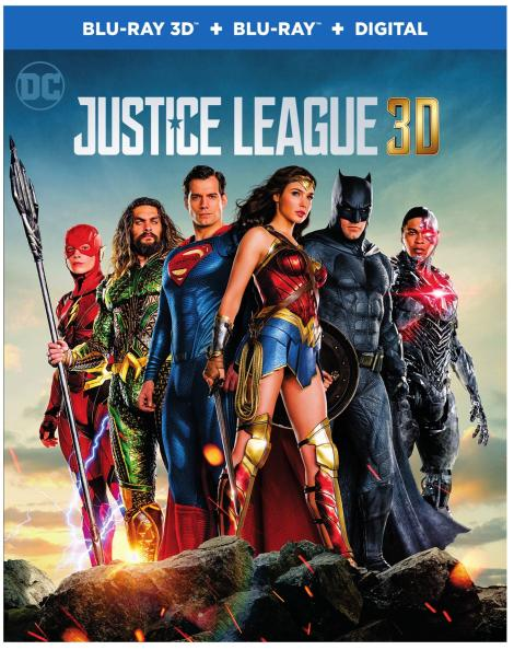 'Justice League'; Arrives On Digital February 13 & On 4K Ultra HD, 3D Blu-ray, Blu-ray & DVD March 13, 2018 From DC & Warner Bros 16