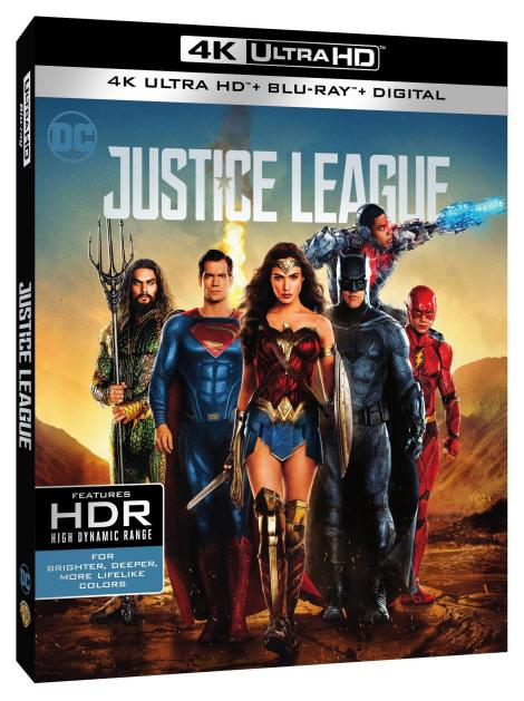 'Justice League'; Arrives On Digital February 13 & On 4K Ultra HD, 3D Blu-ray, Blu-ray & DVD March 13, 2018 From DC & Warner Bros 13