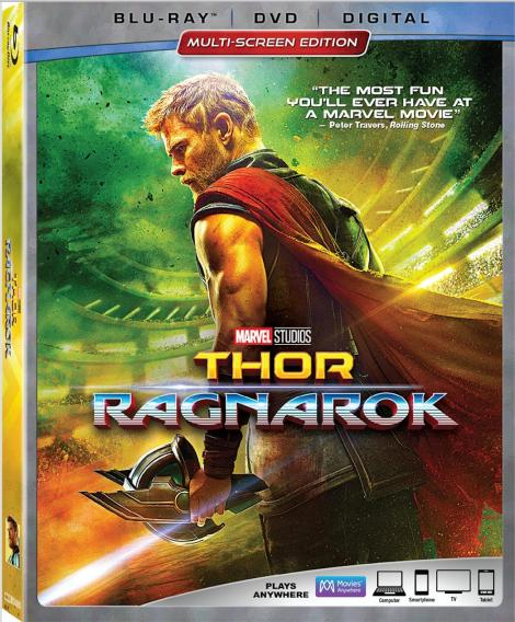 Marvel's 'Thor: Ragnarok'; Arrives On Digital February 20 & On 4K Ultra HD, Blu-ray & DVD March 6, 2018 From Marvel Studios 3