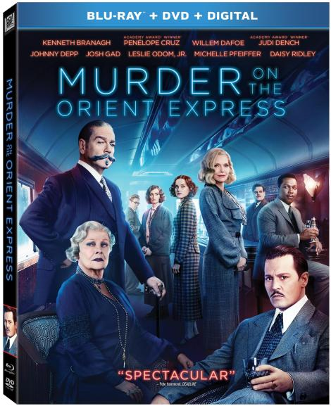 'Murder On The Orient Express'; Arrives On Digital February 20 & On 4K Ultra HD, Blu-ray & DVD February 27, 2018 From Fox Home Ent. 5