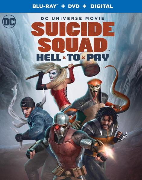 Trailer, Artwork & Release Info For 'Suicide Squad: Hell To Pay'; Arrives On Digital March 27 & On 4K Ultra HD, Blu-ray & DVD April 10, 2018 From DC & Warner Bros 4