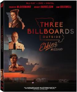 'Three Billboards Outside Ebbing, Missouri'; Arrives On Digital February 13 & On 4K Ultra HD, Blu-ray & DVD February 27, 2018 From Fox Home Ent 1