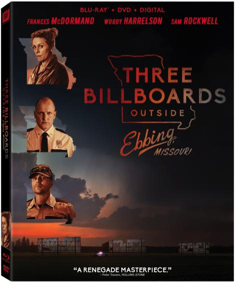 'Three Billboards Outside Ebbing, Missouri'; Arrives On Digital February 13 & On 4K Ultra HD, Blu-ray & DVD February 27, 2018 From Fox Home Ent 2