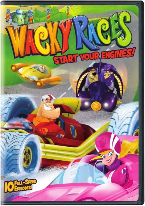 The New 'Wacky Races'; Start Your Engines: Season 1 Volume 1 Arrives On DVD April 24, 2018 From Warner Bros 2