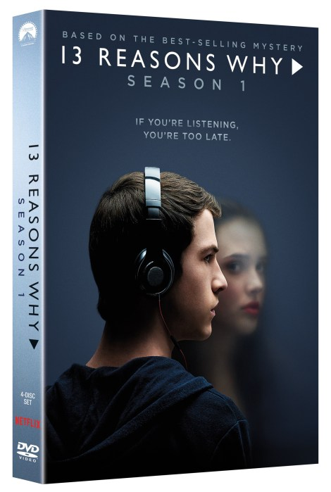 '13 Reasons Why: Season 1'; Arrives On DVD April 3, 2018 From Paramount 2